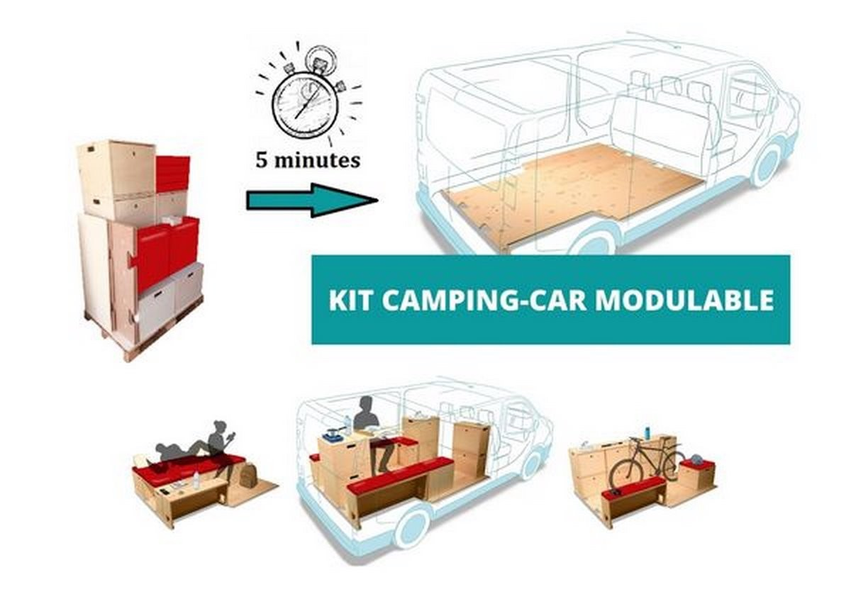 Kit camping-car modulable NOLTY