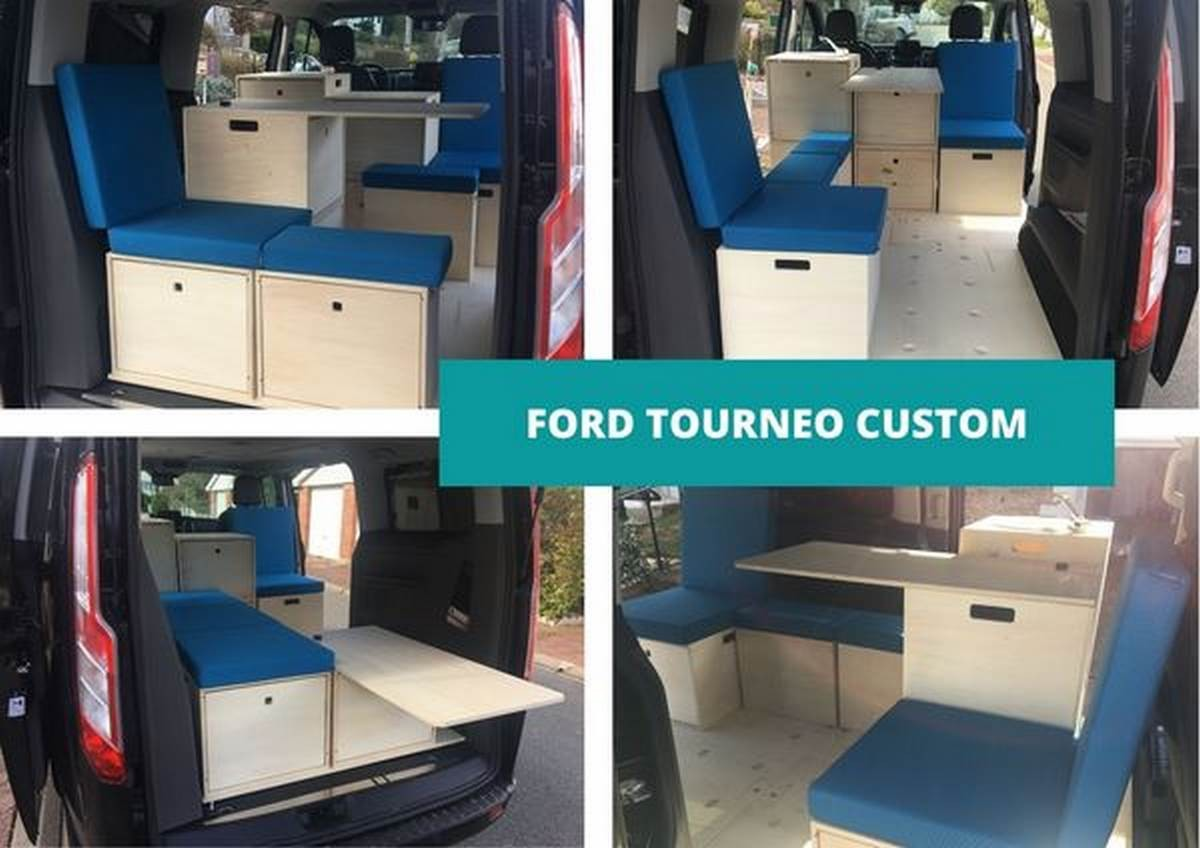 Ford Tournéo Custom NOLTY